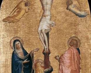 Распятие с Девой Марией, Иоанном Богословом и Марией Магдалиной — Фра Анджелико