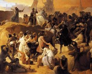 Crusaders Thirsting near Jerusalem — Франческо Хайес