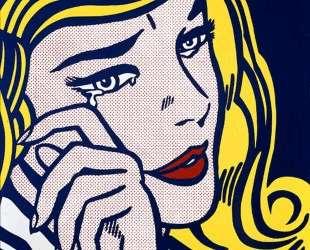 Плачущая девушка — Рой Лихтенштейн