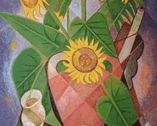 Cubist Sunflowers — Маревна