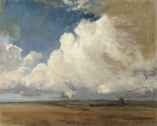 Грозовые облака — Фёдор Васильев