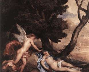 Амур и Психея — Антонис ван Дейк