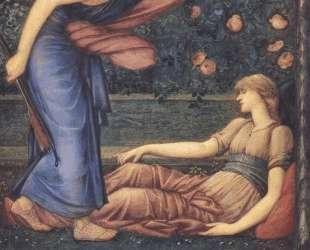 Амур и Психея — Эдвард Бёрн-Джонс