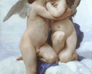 Cupid and Psyche — Вильям Адольф Бугро