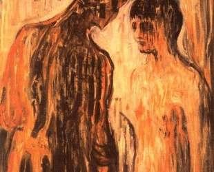 Амур и Психея — Эдвард Мунк