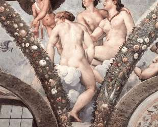 Cupid and the Three Graces — Рафаэль Санти