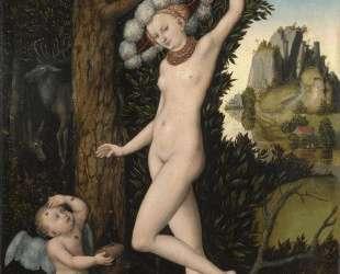 Купидон жалуется Венере — Лукас Кранах Старший