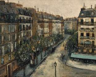 Custine street near Montmartre — Морис Утрилло