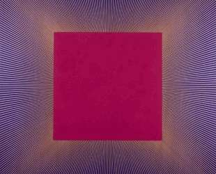 Deep Magenta Square — Ричард Анушкевич