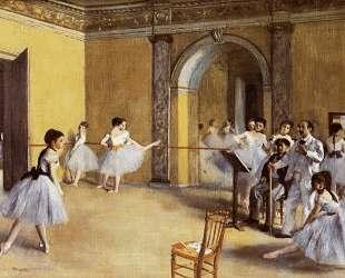 Танцевальный класс в Опере — Эдгар Дега
