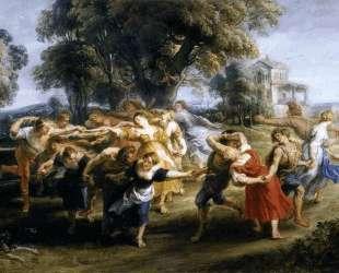 Dance of Italian Villagers — Питер Пауль Рубенс
