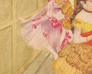 Танцовщица у задника — Эдгар Дега