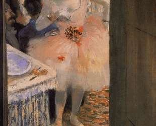Танцовщица в своей уборной — Эдгар Дега