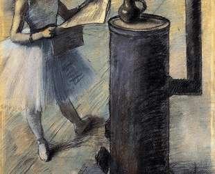 Танцовщица отдыхает — Эдгар Дега