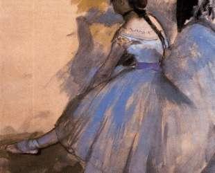 Танцовщица отдыхает (этюд) — Эдгар Дега