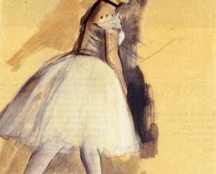 Танцовщица стоя (этюд) — Эдгар Дега