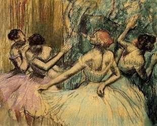 Танцовщицы за кулисами — Эдгар Дега