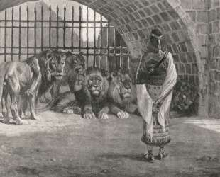 Daniel in the Lion's — Джеймс Тиссо