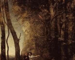 Данте и Вергилий — Камиль Коро