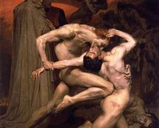 Dante and Virgil in Hell — Вильям Адольф Бугро