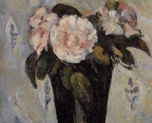 Dark Blue Vase — Поль Сезанн