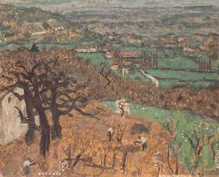 Dauphine Landscape — Пьер Боннар
