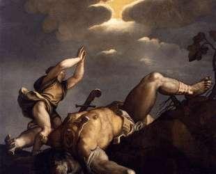 David and Goliath — Тициан