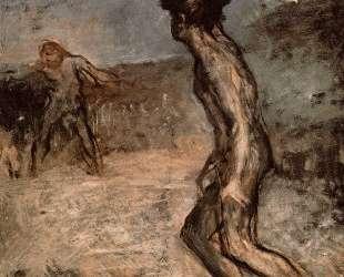 Давид и Голиаф — Эдгар Дега