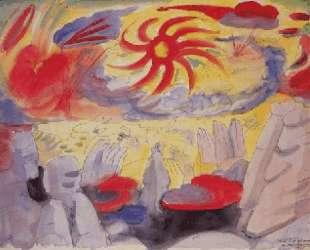 Dawn in Montserrat — Андре Массон