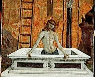 Христос во гробе — Пьетро Перуджино