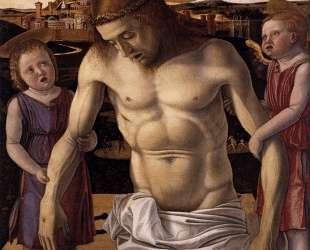 Мёртвый Христос, поддерживаемый двумя ангелами — Джованни Беллини