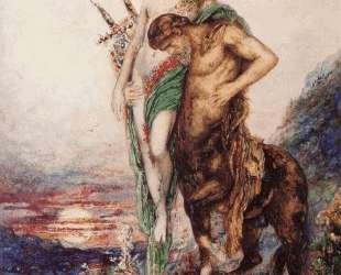 Dead poet borne by centaur — Гюстав Моро