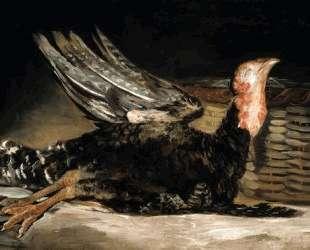 Dead turkey — Франсиско де Гойя