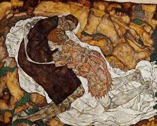 Death and the Maiden — Эгон Шиле