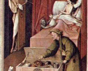 Смерть и Скупец — Иероним Босх