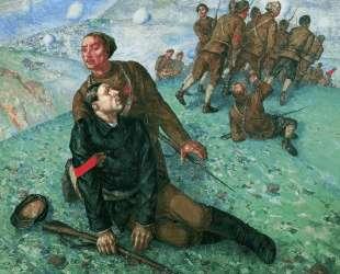 Смерть комиссара — Кузьма Петров-Водкин