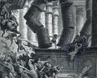 Смерть Самсона — Гюстав Доре