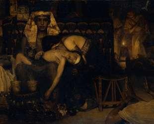 Смерть первенца фараона — Лоуренс Альма-Тадема