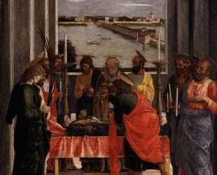 Death of the Virgin — Андреа Мантенья