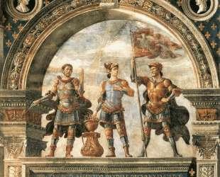 Decoration of the Sala del Gigli — Доменико Гирландайо