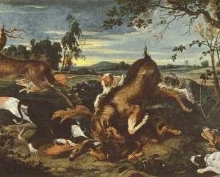 Deer hunting — Франческо Гварди