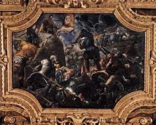 Defence of Brescia — Тинторетто