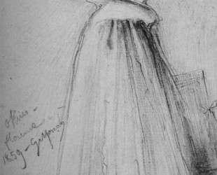 Degas portrait in the Uffizi — Гюстав Моро