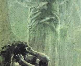 Demon and Angel with Tamara's Soul — Михаил Врубель