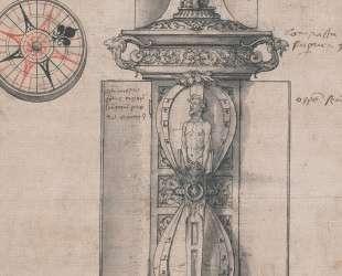 Design for Anthony Denny's Clocksalt — Ганс Гольбейн Младший