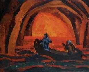 Эскиз декорации к опере Вольфганга-Амадея Моцарта 'Дон Жуан' — Пётр Кончаловский