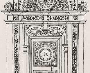 Набросок ворот — Альбрехт Альтдорфер