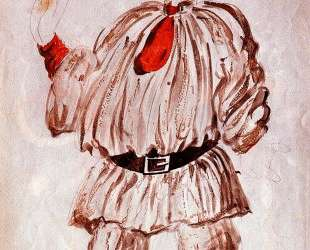 Design of costume for 'Pulcinella' — Пабло Пикассо