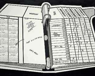 Настольный календарь — Рой Лихтенштейн