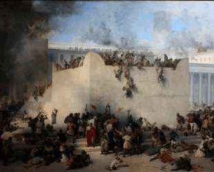 Destruction of the Temple of Jerusalem — Франческо Хайес